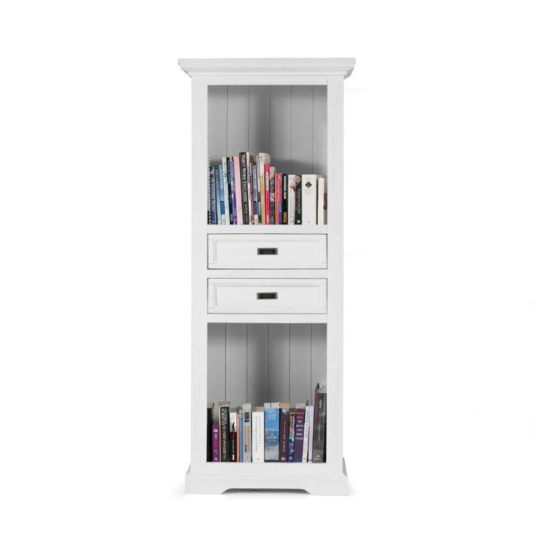 Vancouver W (Book cabinet 2drws, 2niches)