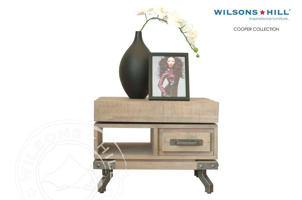 Cooper (End table 1 drawer, 1 niche)