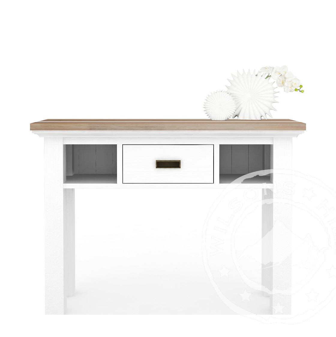 Brighton (Side table 1drw, 2 niches)