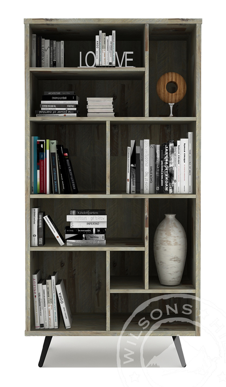 Alicia (Bookcase 10 Niches)
