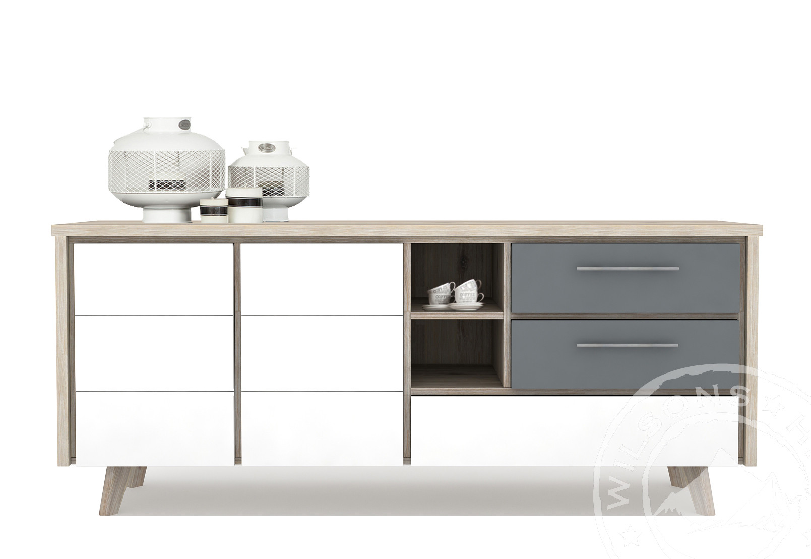 Ronda (Sideboard 3drws, 2drs, 3niches)