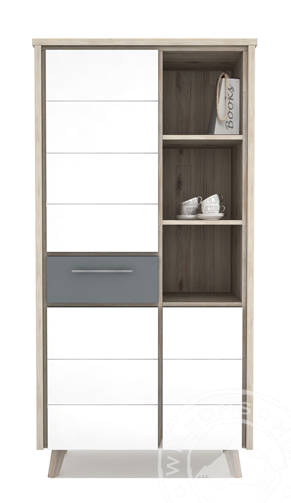 Ronda (Highboard 3drs, 1drw, 3niches)