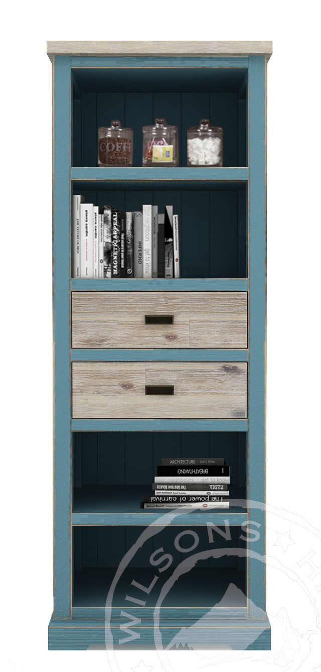 Rio (Bookcase 2drws, 4niches)