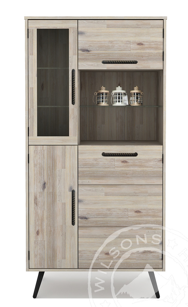 Lava (Highboard 4drs, 2niches)