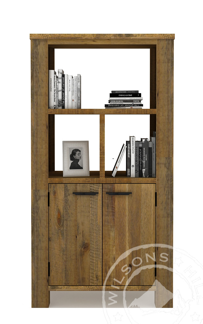 Orlando (Bookcase 2drs, 3niches)