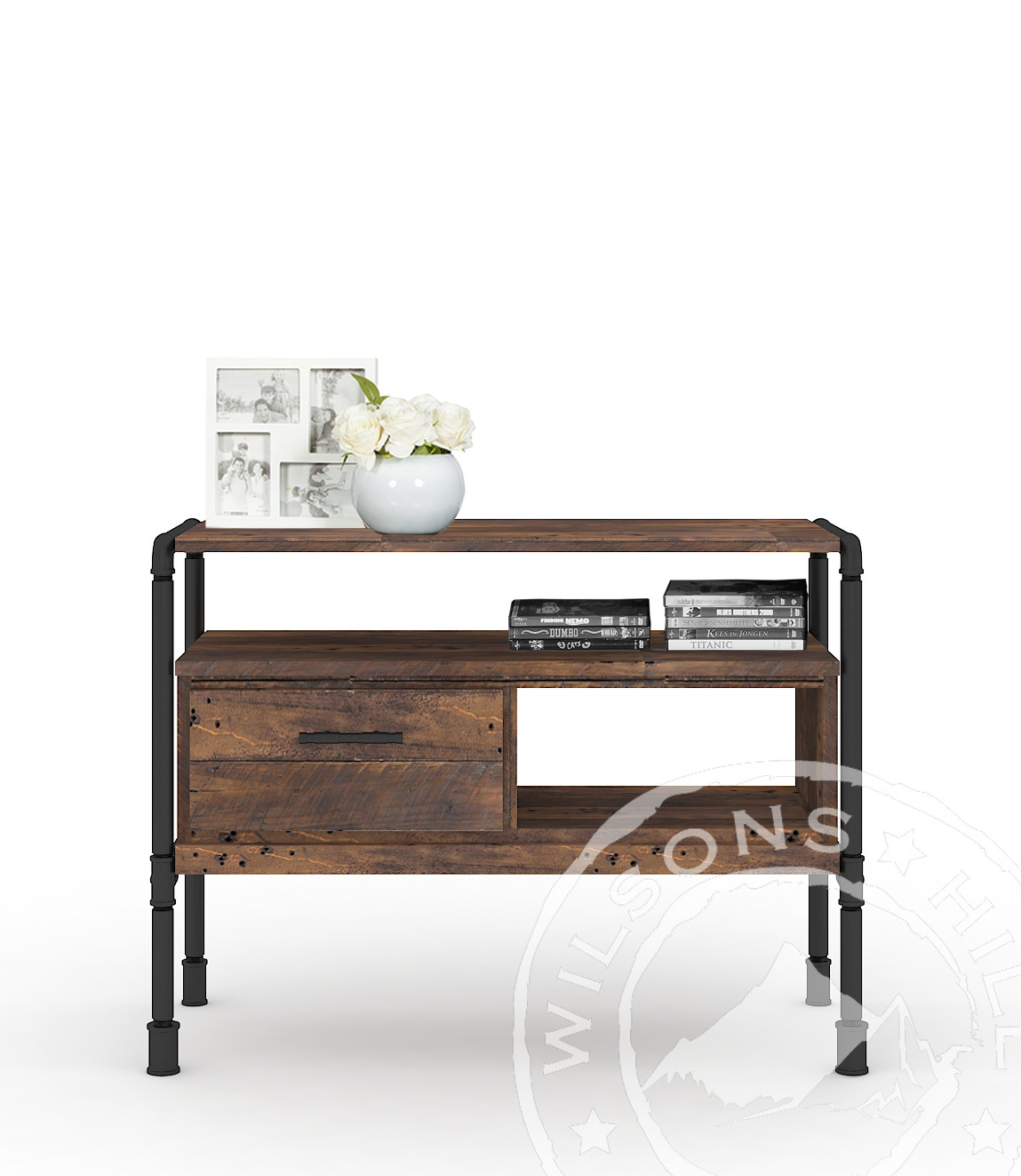 Bourbon (Console table 1drw, 2niches)