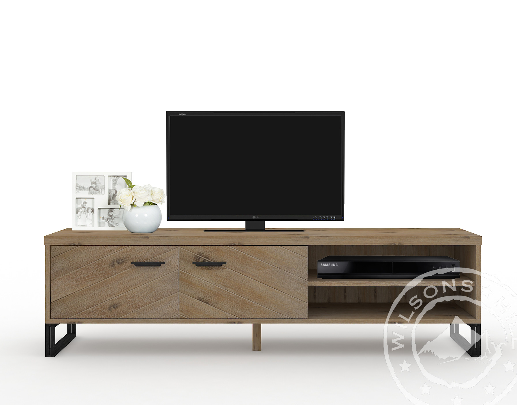 Montana (TV Cabinet 2drs, 2niches)