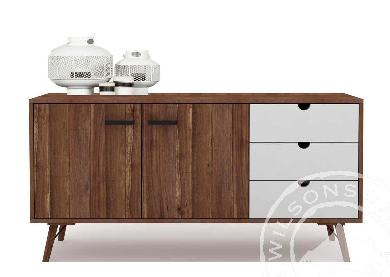 Campo (Sideboard white 2drs , 2drws)