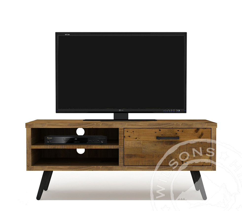 Patina (TV Cabinet 1drw, 2niches)