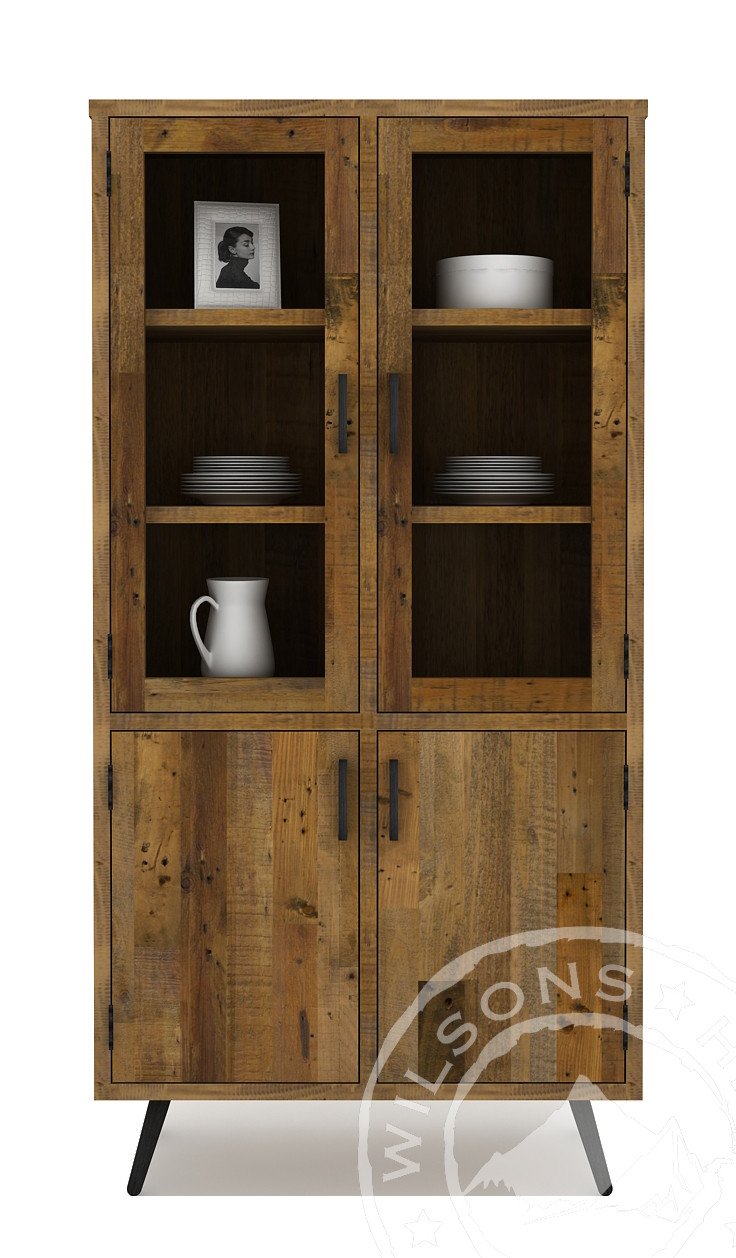 Patina (Double Vitrine 4drs, 6niches)