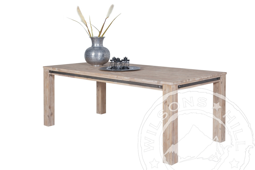 Industrial (Straight legs Dining table)