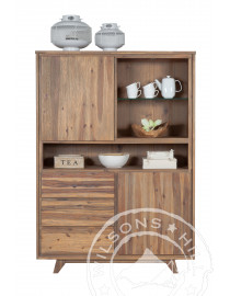 Fabulous (Highboard 2dr 3drw 3nich with one glass shelf)