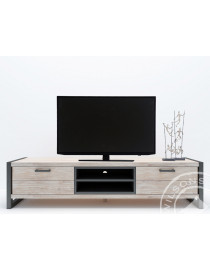 Oliver (TV cabinet 2 drws, 1shelf)