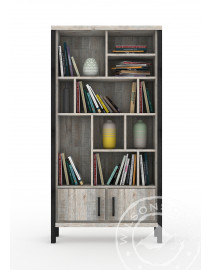 Madrid ( Bookcase 2Drs, 10Niches )
