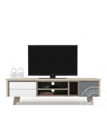 Ronda (TV Cabinet 1dr, 1drw, 3niches)