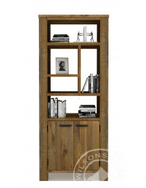 Orlando (Bookcase 2drs, 5niches)