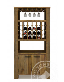 Orlando ( Wine Cabinet 2drs, 2niches)