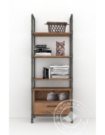 Safari (Bookcase 1drw, 5niches)