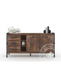 Bourbon (Side board 2drs, 3drws, 3niches)