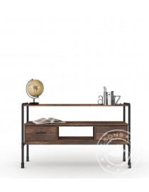 Bourbon (Console table 2drws, 2 niches)
