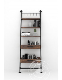 Bourbon (Ladder shelf 2drws, 3shelves)