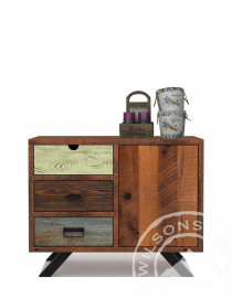 Verona (Side table 1dr, 3drws)