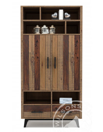 Sahara (Highboard 2drs, 2drws, 6niches)