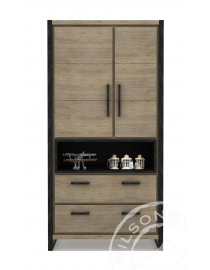 Zara (Highboard 2drs, 2drws, 1niche)