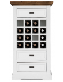 Surrey (Wine cabinet 3drws 16 bottles)